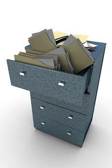 File cabinet single